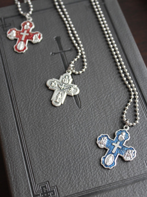 5-Way Medal Necklace