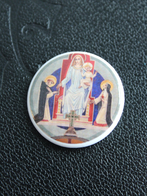 Our Lady of the Rosary Pin
