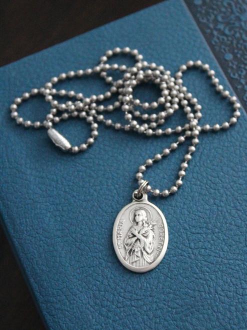 Patron Saint Medal Necklace - Choose Your Own!