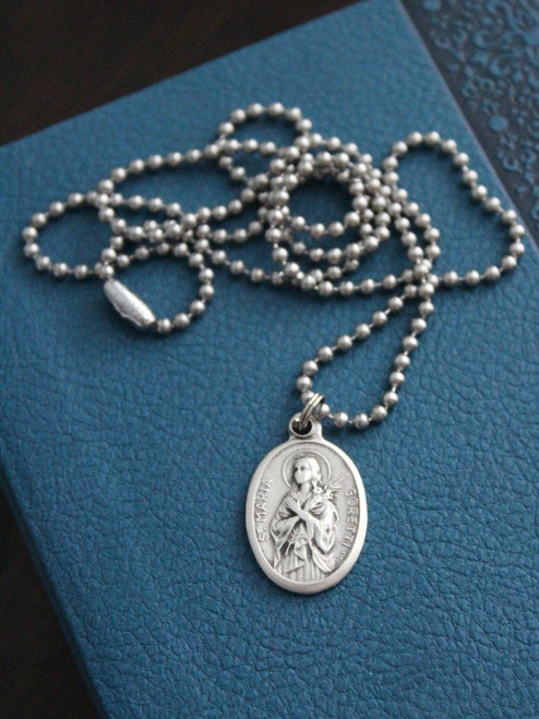 Patron Saint Medal Necklace - Choose Your Own!
