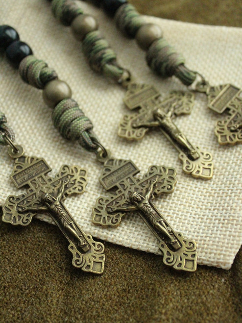 Soldier's One-Decade Paracord Rosary
