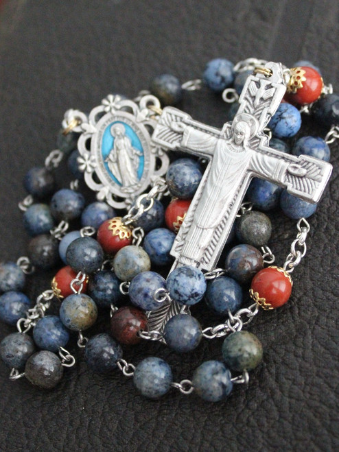 Christ the King Gemstone Rosary