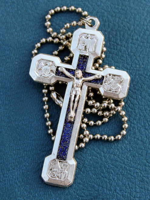 Via Crucis Necklace - Blue