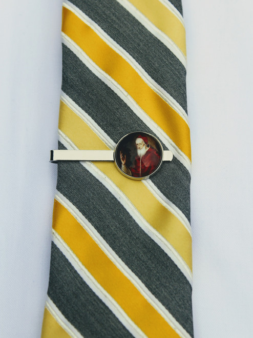 Pope Saint Pius V Tie Bar