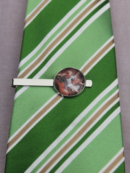 Saint Michael Tie Bar