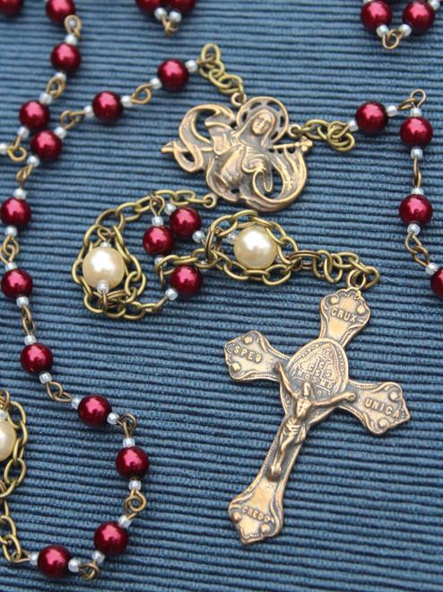 Custom Rosary for Scott