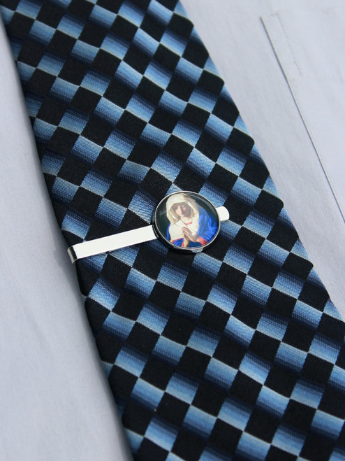 Virgin Mary Tie Bar