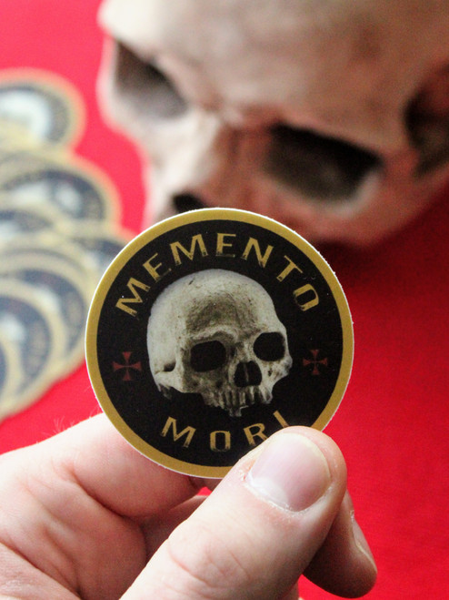 Memento Mori Decal (2-inch)
