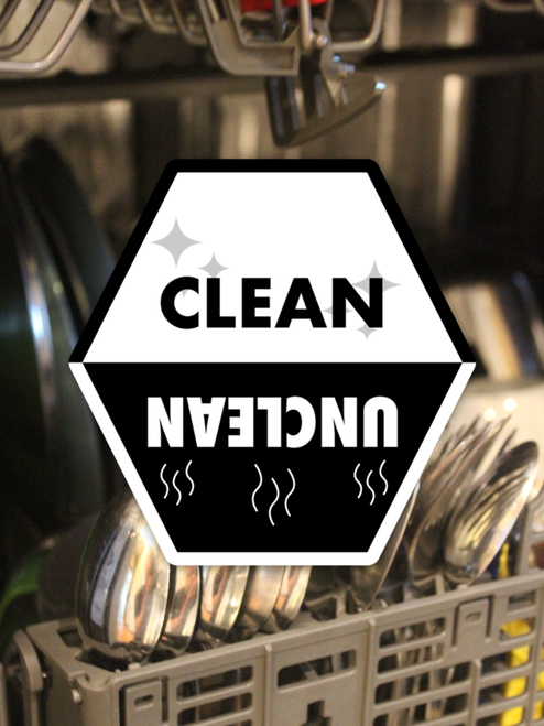 Clean/Unclean Dishwasher Magnet