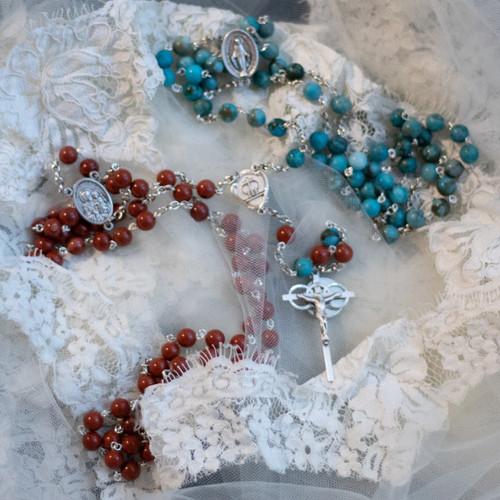 Custom Rosary for Emily