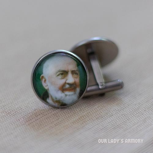 Padre Pio Cufflinks