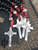 Vade Retro One-Decade Paracord Rosary - RED