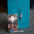 Holy Spirit Crucifix Necklace - Cable Chain