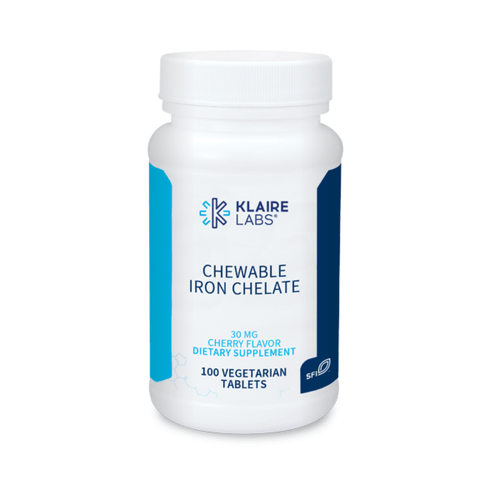 Chewable Iron Chelate