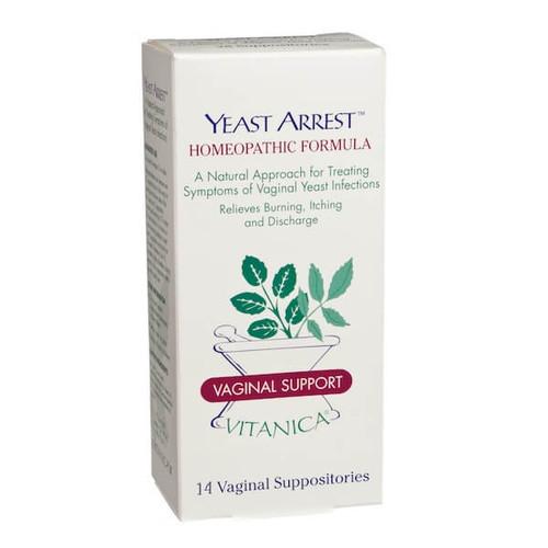 Yeast Arrest Suppositories™