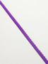 Purple scallop elastic