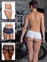 Christmas surprise lingerie bon bon briefs styles
