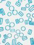 Aqua Bra rings, slides and hooks