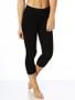 Black Organic Cotton Ladies Leggings