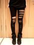 Gothic Ripped leggings