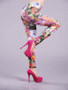 Floral Printed Seamless Leggings