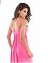 Musk Pink Ruffle cotton spandex Beach Dress