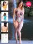 Charli Swimsuit, Tankini and Bikini pattern