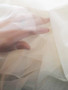 Ivory Rigid Sheer Nylon