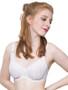 Bra lined in White Rigid Sheer Nylon