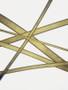 Antique Gold bra strap elastic
