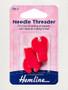 Hemline needle threaders with cutter