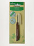 Clover seam ripper unpicker with timber handle
