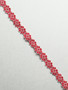 Red Daisies Lace Trims
