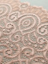 Victorian Rose Gold 18cm Stretch Lace