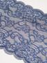 Arabian Nights navy blue shimmery Stretch Lace
