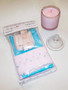 Bra kit and candle gift pack