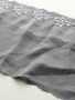 Charcoal Silk 19cm Rigid Lace