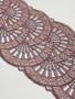 Oreo double scallop edge lace