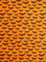 Cotton halloween fabric with bats