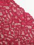 Rich Claret 19.5cm  Rigid Lace