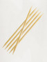 Double ended knitting needles bamboo