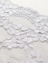 wide light grey firm stretch lace sold by the metre  yard
