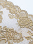 Gilded Gold 17cm Stretch Lace