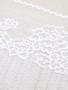 Delicate White Mesh 22cm Stretch Lace