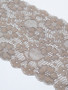 Corded Olive 17cm Stretch Lace