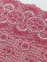 Dark Red 24cm Stretch Lace