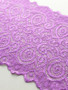 Victorian Purple 18cm Stretch Lace