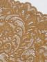 Dark gold stretch lace