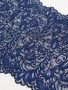 Splendour Navy 20cm Stretch Lace