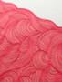 Glittering Red 19cm Wide Rigid Lace